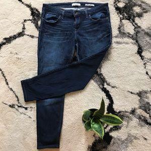 Dark Wash Guess Skinny Jeans
